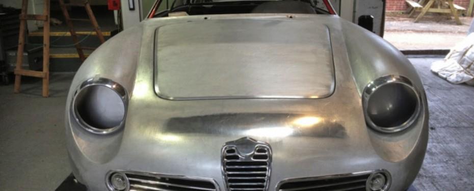 Alfa SZ Works Car